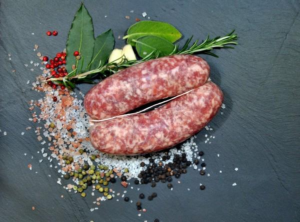 Le salamelle (salsicce) gr. 350
