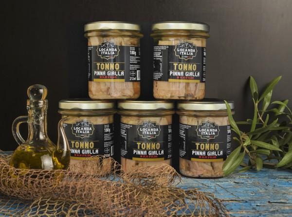 Locanda italia tonno pinna gialla gr.180