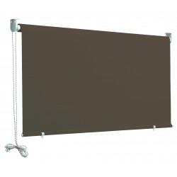 tenda a caduta con catenella colore - marrone h. 250 l. 150