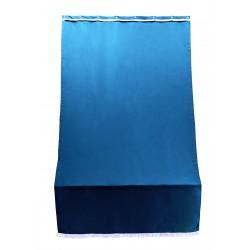 tenda sole per porta con anelli blu l. 140 h. 250