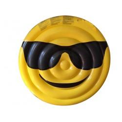 materassino gonfiabile face occhiali da sole ø 150 cm ca.