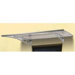 pensilina alluminio sun p. 100 l. 140 supporto grigio