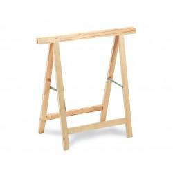 cavalletto in legno di pino/abete portata max 400 kg