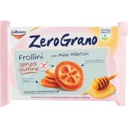 Galbusera ZeroGrano frollini con miele millefiori 260 g