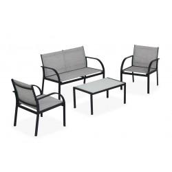 salotto ankara (2 poltrone 1 tavolo 1 divano)