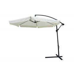 ombrellone ø 3 mt x 3h mt braccio laterale - struttura in acciaio - inclinabile in diverse posizioni - con manovella - co