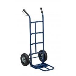 carrello trasporto grandi volumi ruote pneumatiche portata max. 250 kg