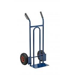 carrello trasporto universale ruote pneumatiche portata max. 200 kg