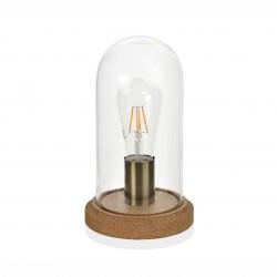 Illuminazione: Lampada sughero e vetro