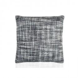Cuscino 45x45 cm colore bianco misto grigio in acrilico