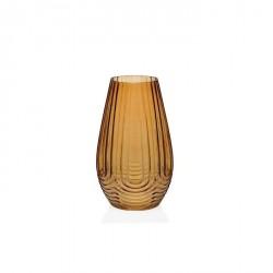 Vaso di vetro effetto ambra - serie iconic