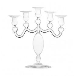 Lanterne e portacandele: Candeliere cuore cinque fiamme