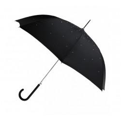 Ombrello per la pioggia richiudibile - auto open - stile strass
