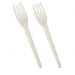Stoviglie per outdoor: Pure forchetta in c-pla 12 pz