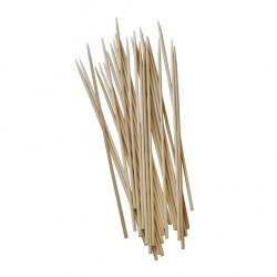 Stoviglie per outdoor: Pure stecconi per kebab in bamboo 25 cm 250 pz