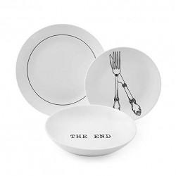 Servizio di piatti: Galateo servizio tavola 18 pz