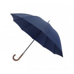 Ombrello per la pioggia richiudibile - lungo - stile homme en canne - colore blu