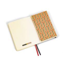 Taccuino per appunti - stampa fantasia spaghetti - size regular cm - serie toiletpaper
