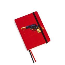 Taccuino per appunti - stampa fantasia revolver - size regular cm - serie toiletpaper