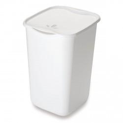 Portabiancheria: Portabiancheria 50 lt bianco