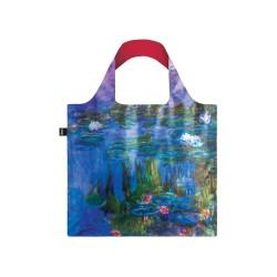 Borsa shopping - tema arte c.monet water lilies
