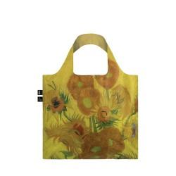 Borsa shopping - tema arte v.gogh - sunflowers