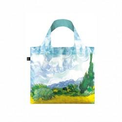 Borsa shopping - tema arte v.gogh a wheat field