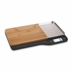 Bilance e pesalimenti: Bilancia da cucina digitale con tagliere 1g/5kg