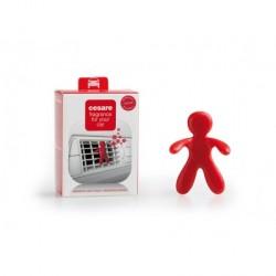 Gadget profumatore per automobile - colore red - collezione cesare