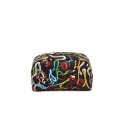 Beauty-case - stampa fantasia snakes - size 23x8 cm - serie toiletpaper