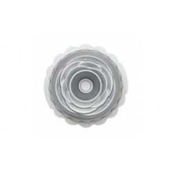 Teglie e stampi: Stampo ciambella rosa antiaderente 20x8 cm