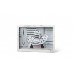 Portafoto cornice effetto marmo 13x18 - serie edge