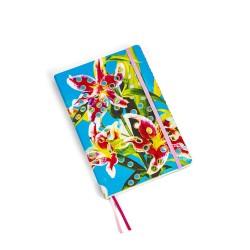 Taccuino per appunti - stampa fantasia flowers - size big cm - serie toiletpaper