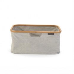Cesta per panni richiudibile 40 lt - color grey - linea laundry