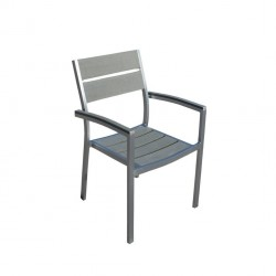 Panche e sedie: Barbados poltrona impilabile