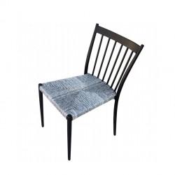 Panche e sedie: Martinica sedia impilabile antracite