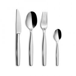 Forchette, coltelli e cucchiai: Malvarrosa servizio posate 24 pz