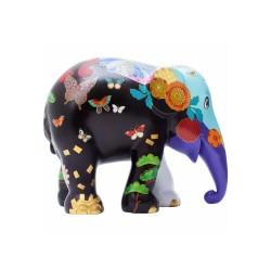 Elefantino d'autore - arte kiku - h cm 15 - statuetta solidale