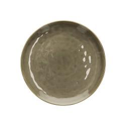 Piatto da portata colore grigio tortora - collezione concerto 32 cm