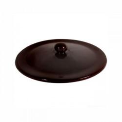 Pentole terracotta e ceramica: Terra marrone coperchio 18 cm