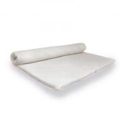 Coprirete e accessori: Topper con elastici tessuto 3d per letto singolo