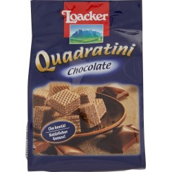 Loacker Quadratini Chocolate 250 gr.