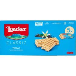 Loacker multipack vaniglia - gr.45 x5