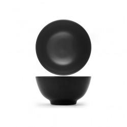 Ciotole, coppette ed insalatiere: Etno coppetta tonda nera 13 cm
