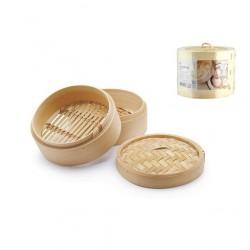 Cottura al vapore: Cuocivapore bamboo 3 pz cm 14,5