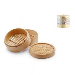 Cottura al vapore: Cuocivapore bamboo 3 pz cm 12,5
