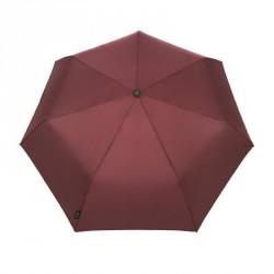 Ombrello per la pioggia richiudibile - unis - stile compact e canne - colore rouge
