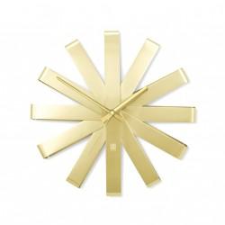 Orologi: Ribbon orologio da parete brass