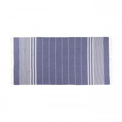 Tessile bagno: Asciugamano telo mare 180x100 cm sultan blue