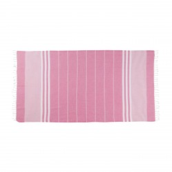 Tessile bagno: Asciugamano telo mare 180x100 cm sultan pink